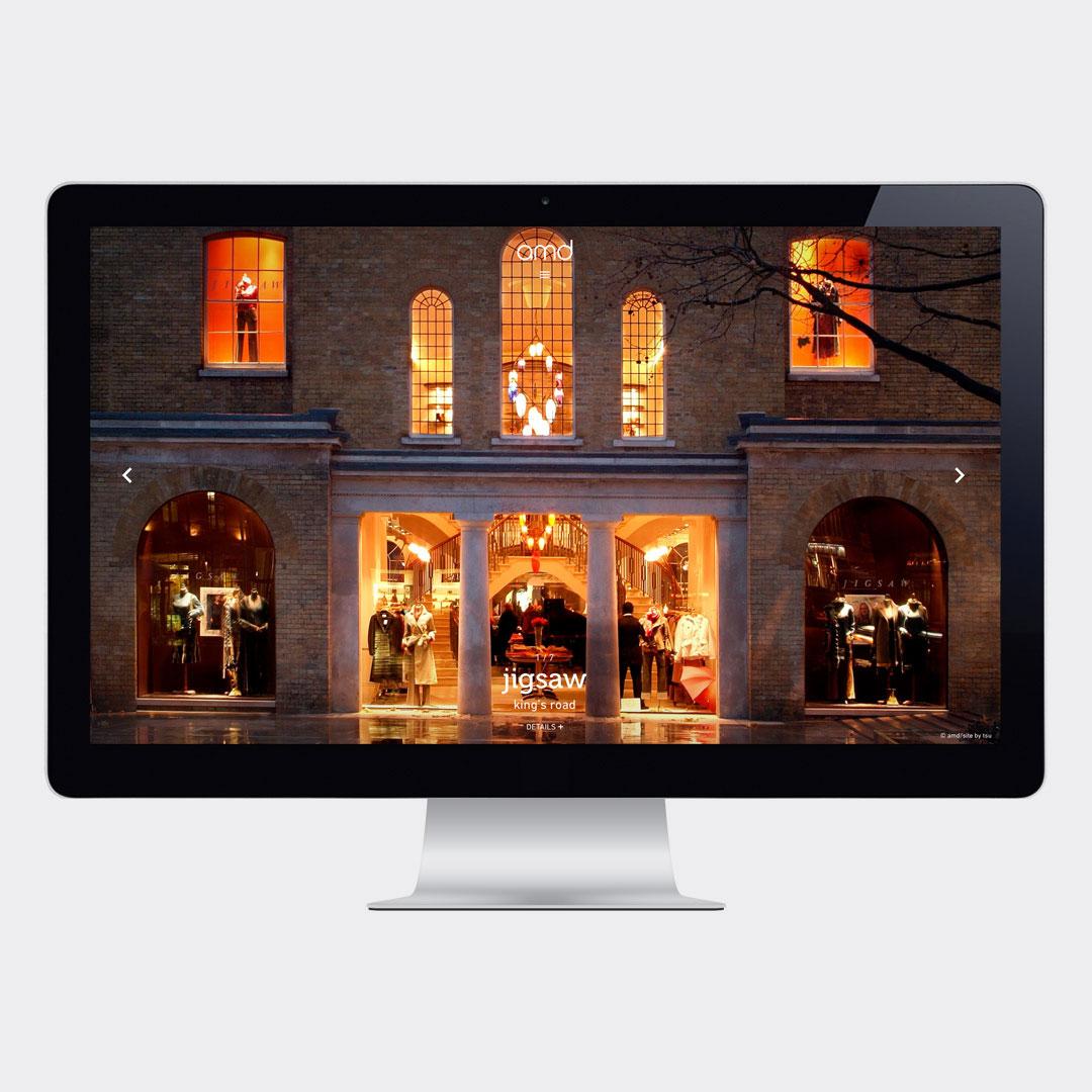 AMD Interior Architecture – Website