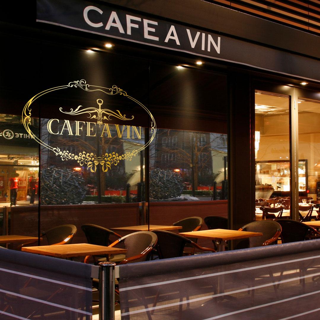 Cafe a Vin – Identity