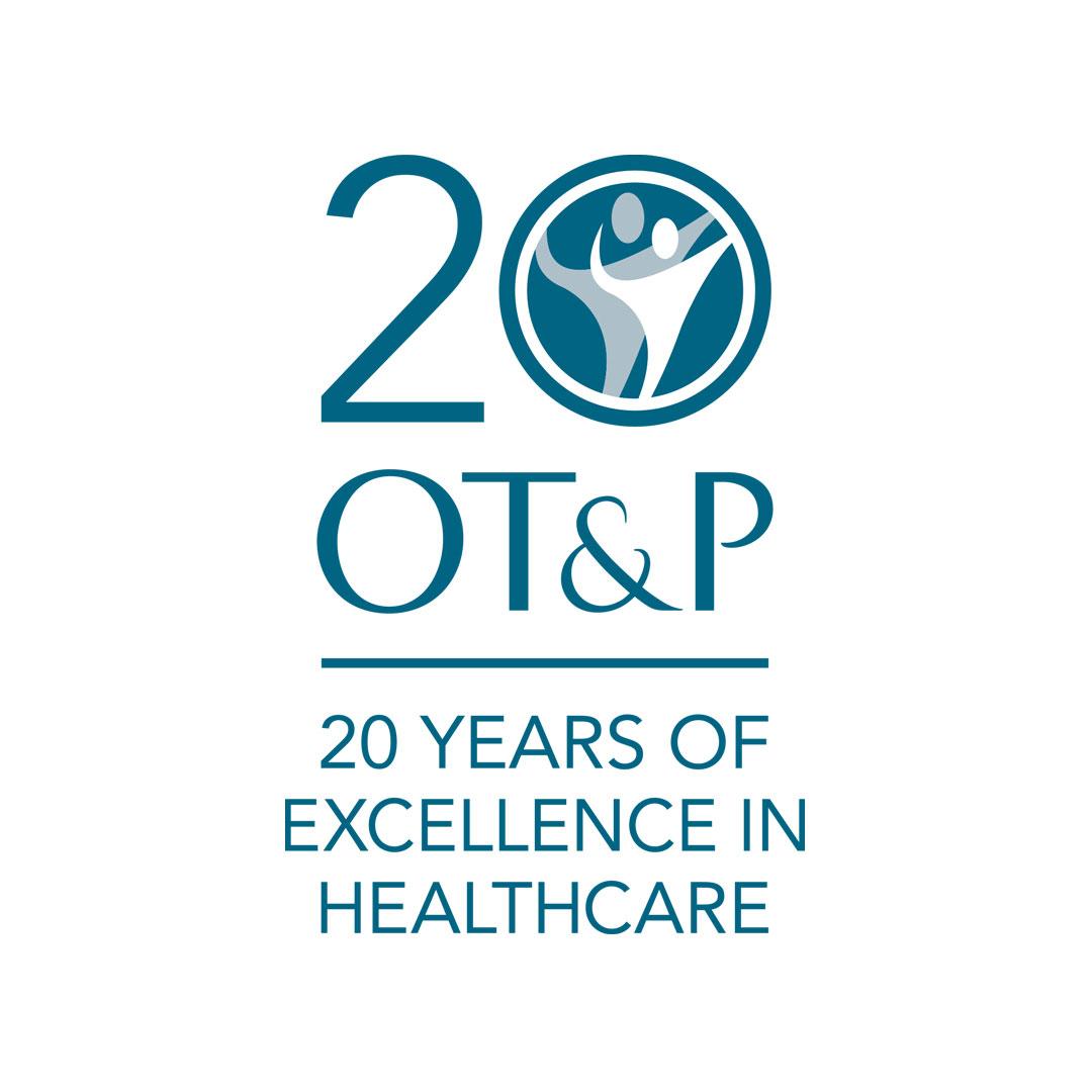 OT&P – 20th Anniversary Logo