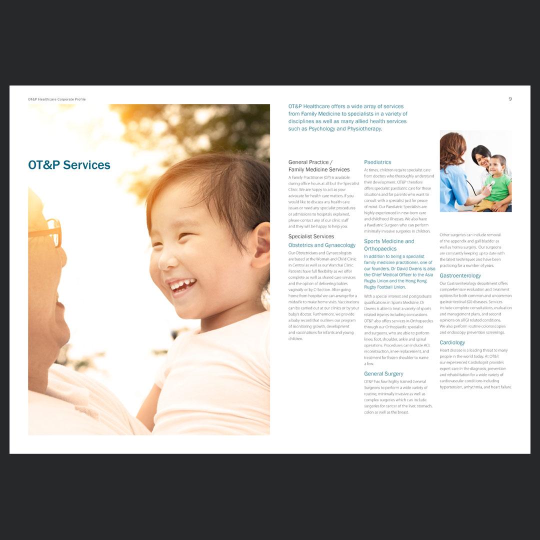 OT&P Healthcare – Corporate Profile